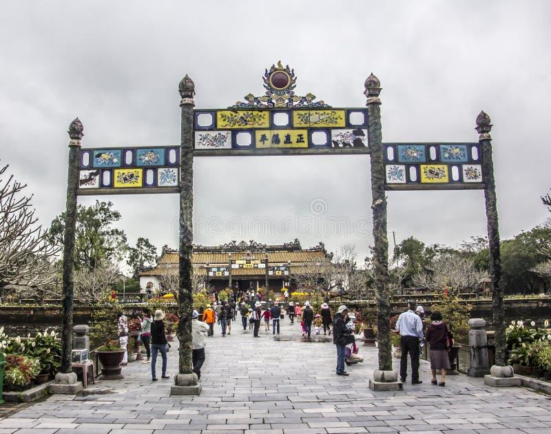 Ταϊλανδικό παλάτι Hoa στοκ φωτογραφίες με δικαίωμα ελεύθερης χρήσης