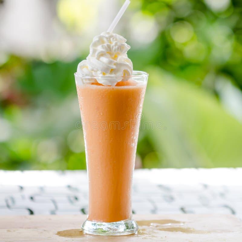 Ταϊλανδικό τσάι πάγου γάλακτος στοκ εικόνες με δικαίωμα ελεύθερης χρήσης