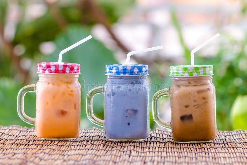 Ταϊλανδικό τσάι πάγου γάλακτος στοκ εικόνα με δικαίωμα ελεύθερης χρήσης