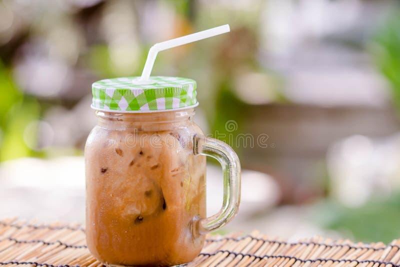 Ταϊλανδικό τσάι πάγου γάλακτος στοκ εικόνες