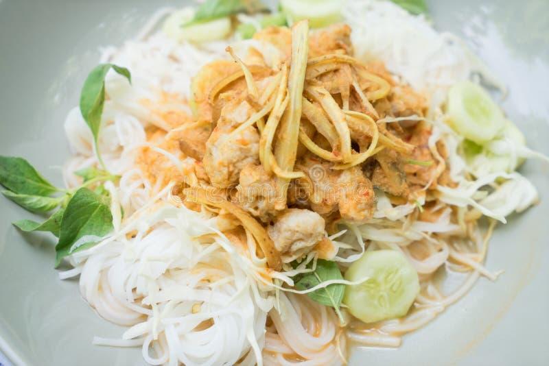 Ταϊλανδικό vermicelli ρυζιού στοκ εικόνα με δικαίωμα ελεύθερης χρήσης