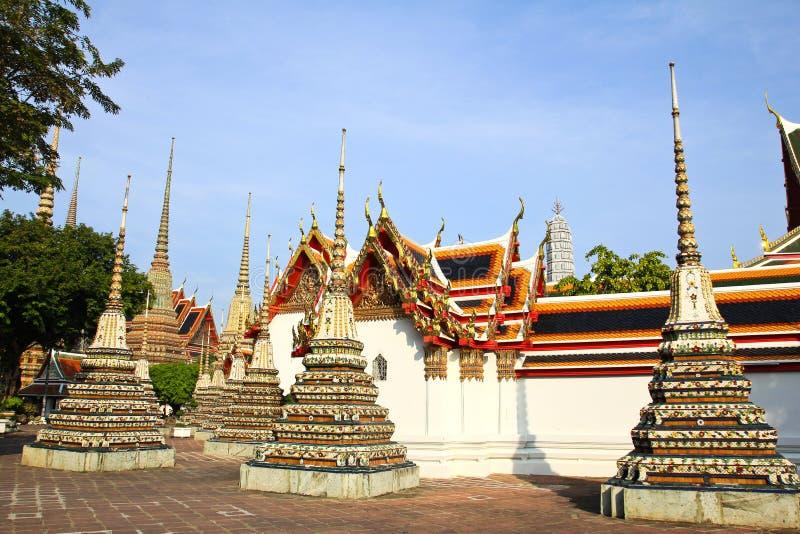 ταϊλανδικό wat pho αρχιτεκτονικής αυθεντικό στοκ φωτογραφίες με δικαίωμα ελεύθερης χρήσης
