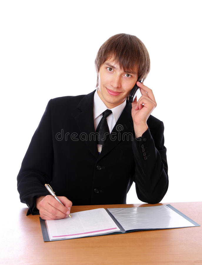Download τα έγγραφα επιχειρηματιών στοκ εικόνα. εικόνα από σύγχρονος - 17059929