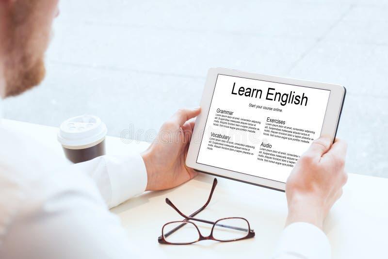 τα αγγλικά μαθαίνουν στοκ εικόνες