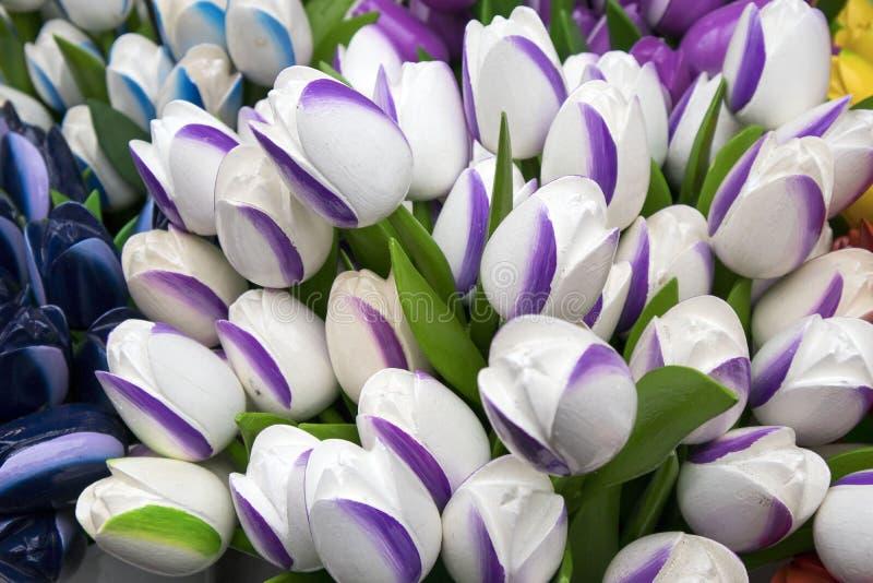 Τα αναμνηστικά σε Bloemenmarkt - να επιπλεύσει αγορά λουλουδιών στο κανάλι Singel φυλακτών netherlands στοκ φωτογραφία με δικαίωμα ελεύθερης χρήσης