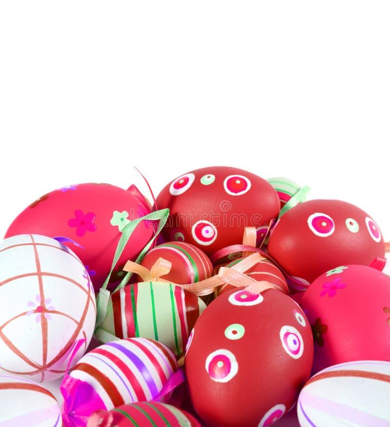 τα αυγά Πάσχας απομόνωσαν &ta στοκ φωτογραφίες με δικαίωμα ελεύθερης χρήσης
