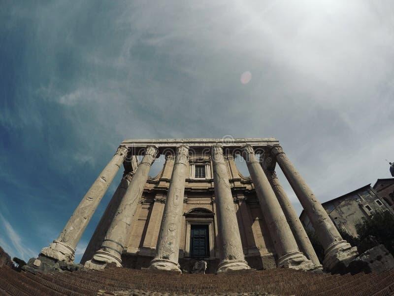 Τα αυτοκρατορικά φόρουμ (Ρώμη) στοκ φωτογραφία με δικαίωμα ελεύθερης χρήσης