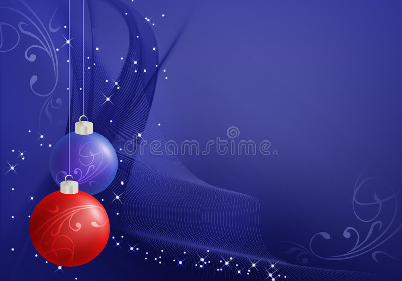 τα αφηρημένα Χριστούγεννα &al διανυσματική απεικόνιση