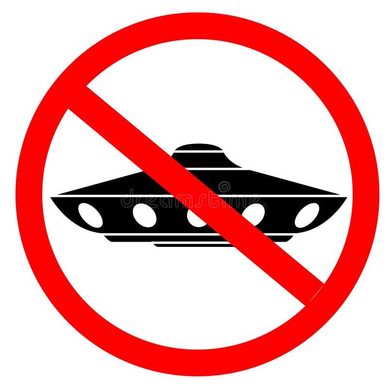 Τα αλλοδαπά σκάφη δεν επιτρέπονται υπογράψτε το διάνυσμα απεικόνιση αποθεμάτων