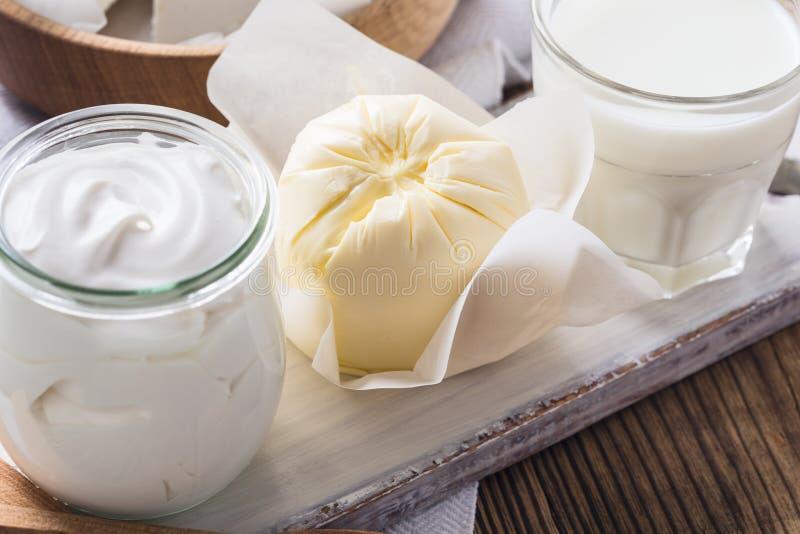 τα γαλακτοκομικά προϊόντ&al στοκ εικόνα με δικαίωμα ελεύθερης χρήσης
