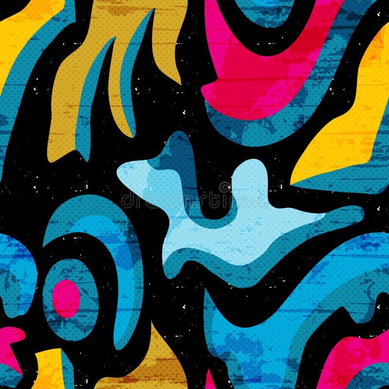 Download Τα γκράφιτι χρωμάτισαν την άνευ ραφής διανυσματική απεικόνιση σύστασης Διανυσματική απεικόνιση - εικονογραφία από διαγώνιος, γραμμή: 62722672