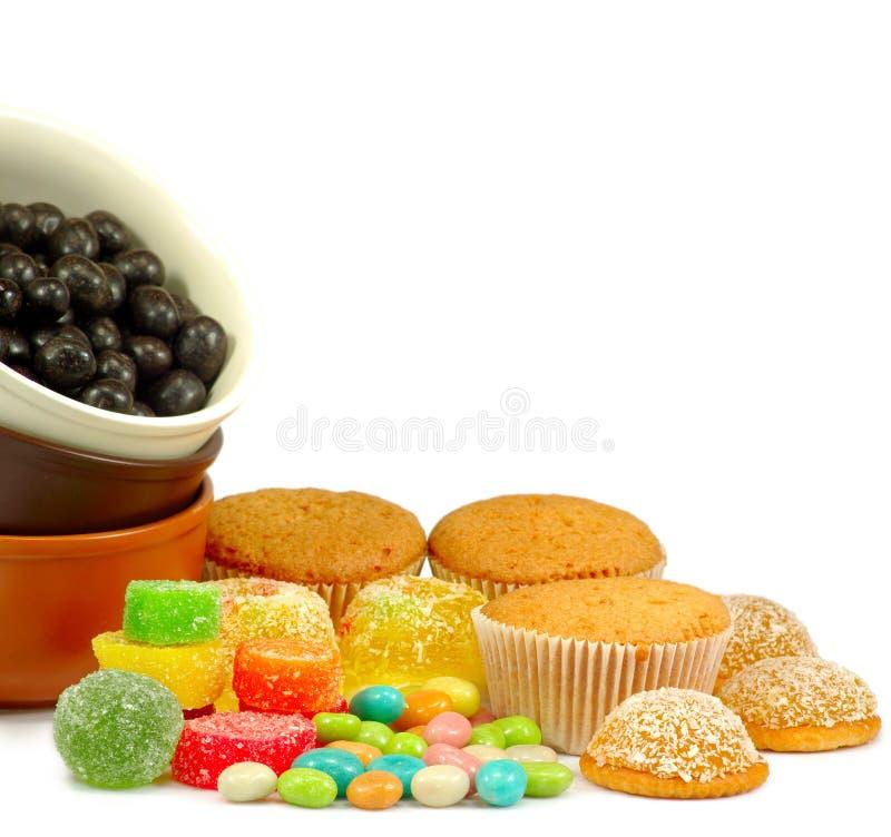 Τα γλυκά απομονώνουν στοκ φωτογραφία με δικαίωμα ελεύθερης χρήσης