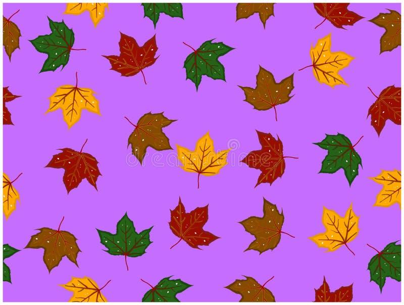 Τα διάφορα χρώματα των σχεδιασμένων φύλλων έχουν μερικές τρύπες ελεύθερη απεικόνιση δικαιώματος