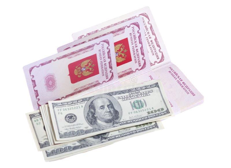 τα διαβατήρια χρημάτων μας &s στοκ φωτογραφίες με δικαίωμα ελεύθερης χρήσης
