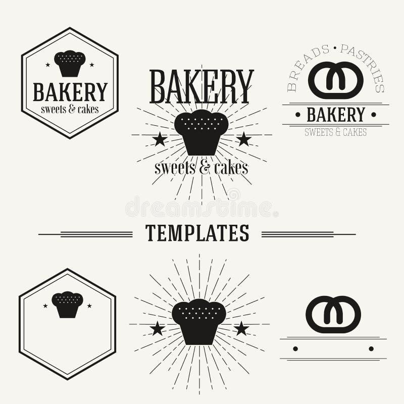 Τα εκλεκτής ποιότητας insignias και logotypes θέτουν ελεύθερη απεικόνιση δικαιώματος