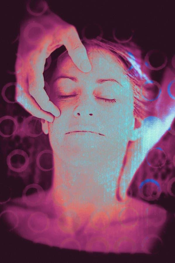 Συγχώνευση μυαλού διανυσματική απεικόνιση