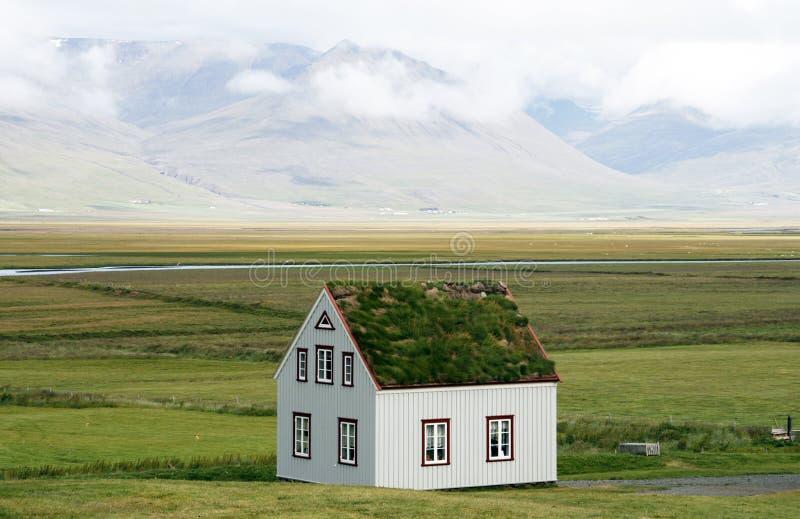 τα ισλανδικά σπιτιών στοκ εικόνες