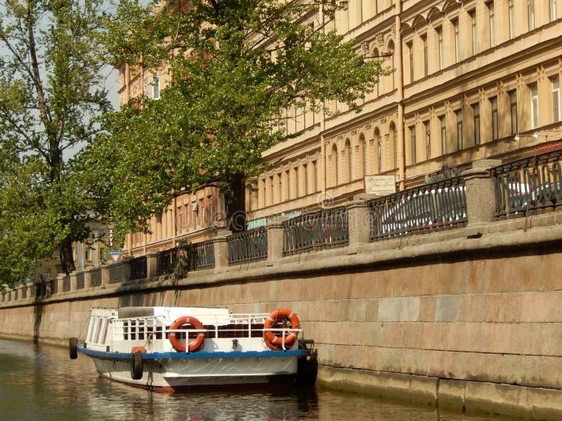 Τα κανάλια της Αγία Πετρούπολης Ρωσία στοκ φωτογραφία με δικαίωμα ελεύθερης χρήσης