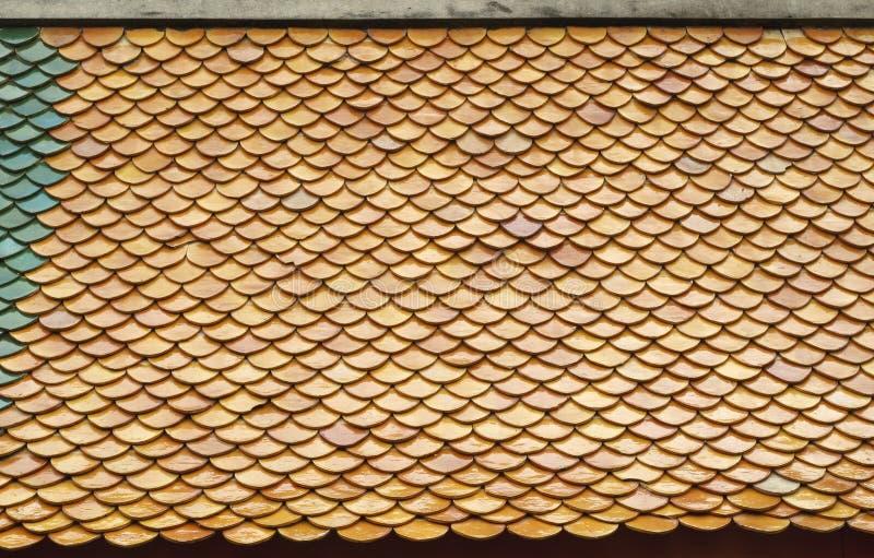 Τα κεραμίδια στεγών γίνονται από τον άργιλο στοκ φωτογραφίες