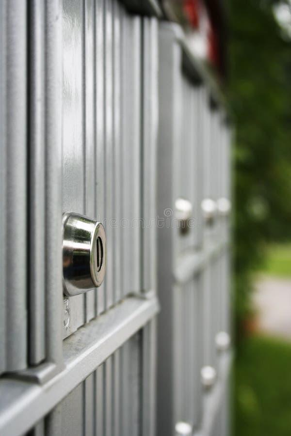 τα κιβώτια ταχυδρομούν ιδιωτικό στοκ φωτογραφίες με δικαίωμα ελεύθερης χρήσης