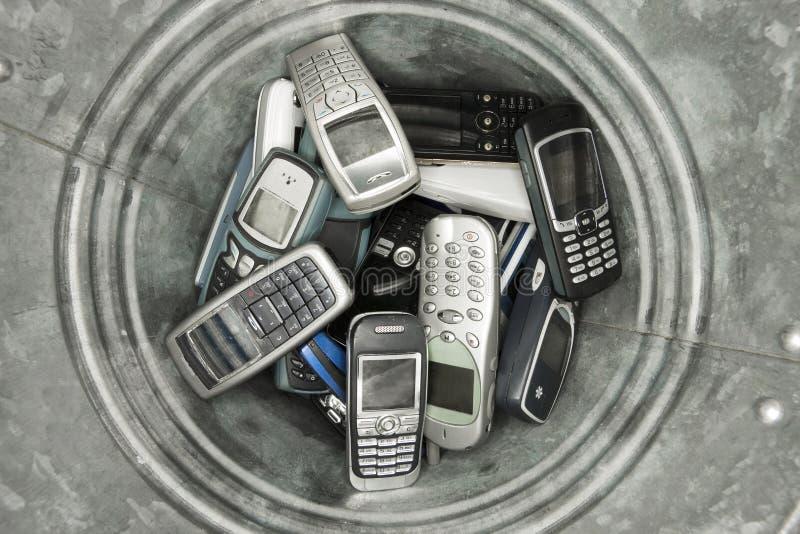 τα κινητά τηλέφωνα στοκ εικόνες