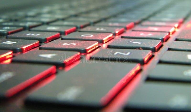 Τα κλειδιά lap-top στοκ φωτογραφίες με δικαίωμα ελεύθερης χρήσης