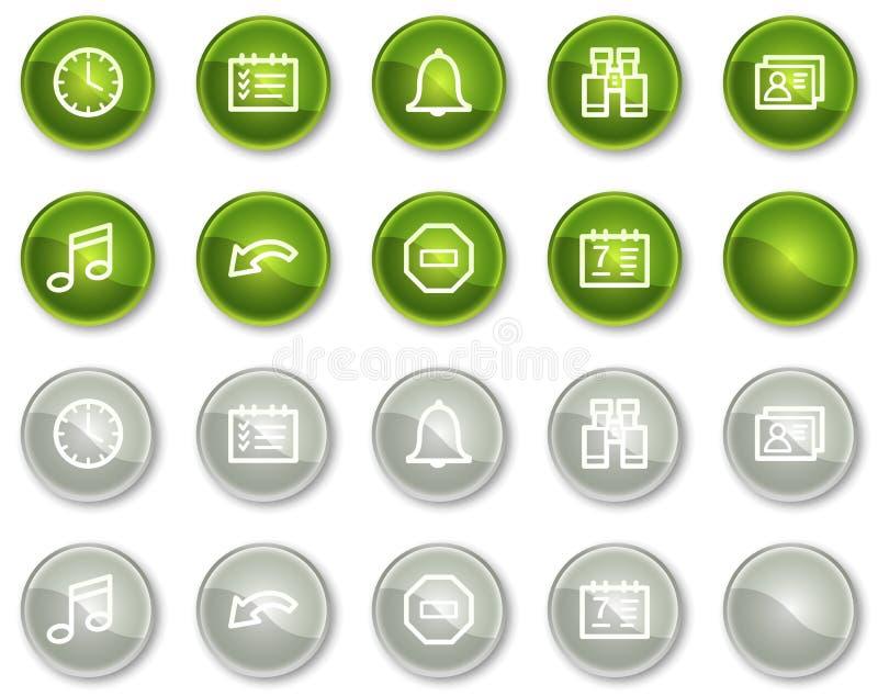 τα κουμπιά περιβάλλουν τ& ελεύθερη απεικόνιση δικαιώματος