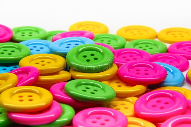 τα κουμπιά χρωματίζουν πο στοκ εικόνα με δικαίωμα ελεύθερης χρήσης