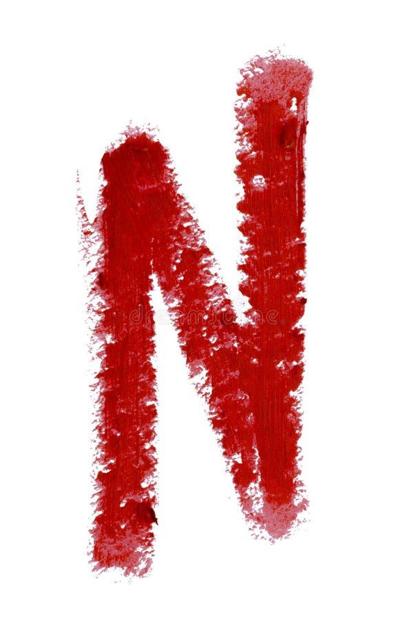 Τα κόκκινα χείλια περιγράφουν το καλλυντικό δείγμα κτυπήματος χρώματος μολυβιών, προϊόν ομορφιάς που απομονώνεται στο άσπρο υπόβα στοκ εικόνα