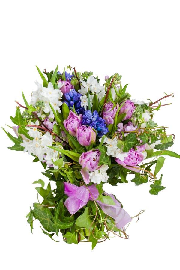 τα λουλούδια ανασκόπησης απομόνωσαν το λευκό στοκ εικόνες
