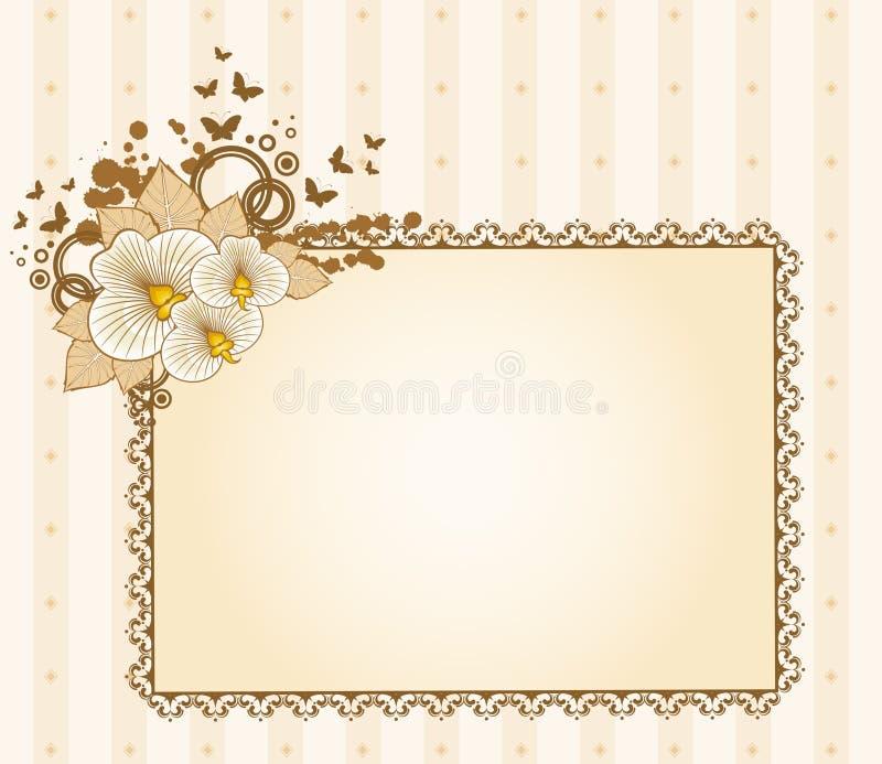 τα λουλούδια δένουν τι&sigma διανυσματική απεικόνιση