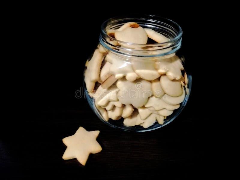 τα μπισκότα Χριστουγέννων βρίσκουν ότι οι εικόνες φαίνονται περισσότερο οι ίδιες σειρές χαρτοφυλακίων μου στοκ εικόνα