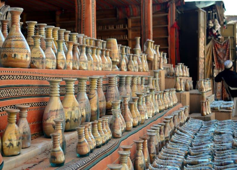 Τα μπουκάλια άμμου στοκ φωτογραφία