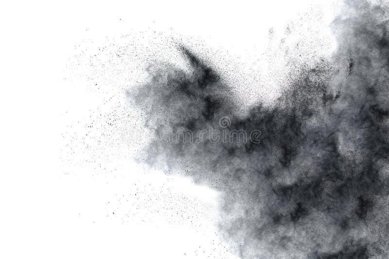 Τα μόρια του ξυλάνθρακα στοκ εικόνες