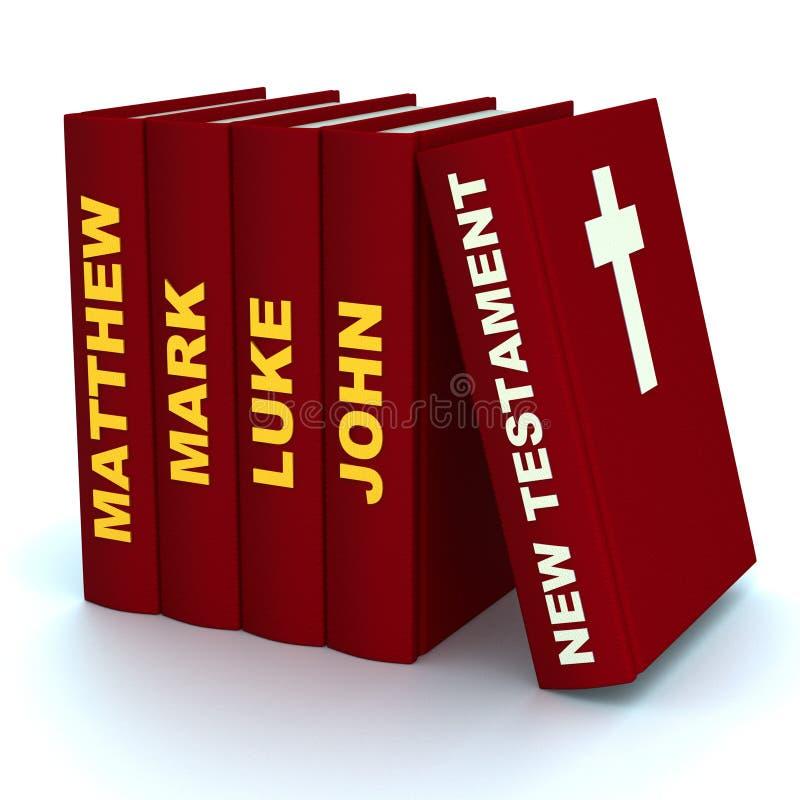 Τα νέα βιβλία διαθηκών διανυσματική απεικόνιση