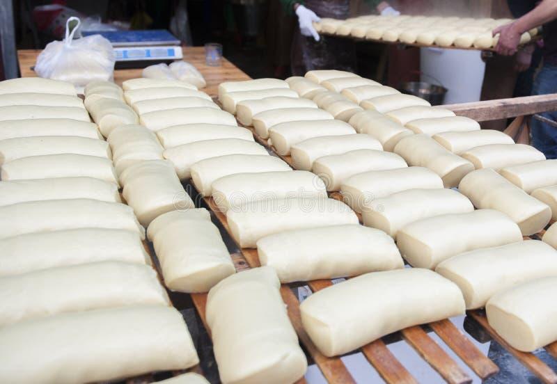 Τα νέα κέικ έτους στο κινεζικό νέο έτος στοκ εικόνες