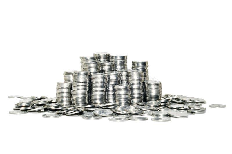 τα νομίσματα ανασκόπησης π& στοκ φωτογραφία με δικαίωμα ελεύθερης χρήσης