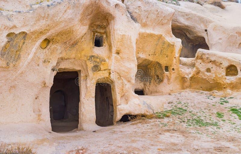 Τα ορόσημα Cappadocia στοκ εικόνα