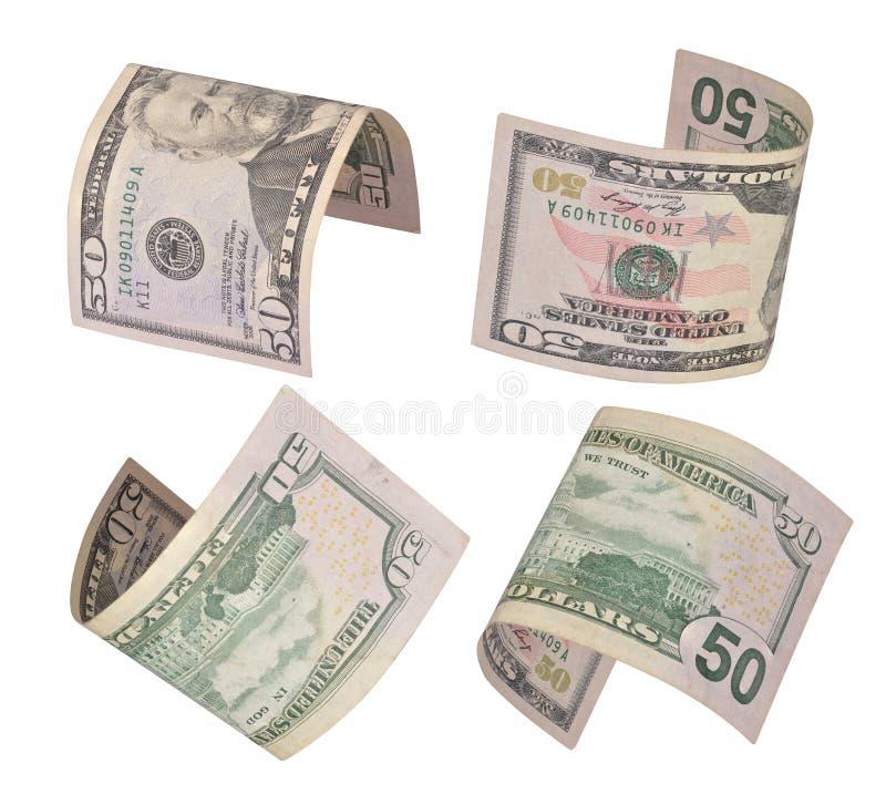 τα δολάρια s νομίσματος λογαριασμών δηλώνουν το u που ενώνεται στοκ φωτογραφία με δικαίωμα ελεύθερης χρήσης