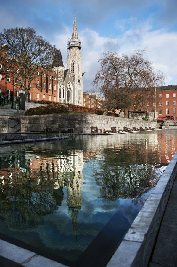 Τα πάρκα του Δουβλίνου στοκ φωτογραφία