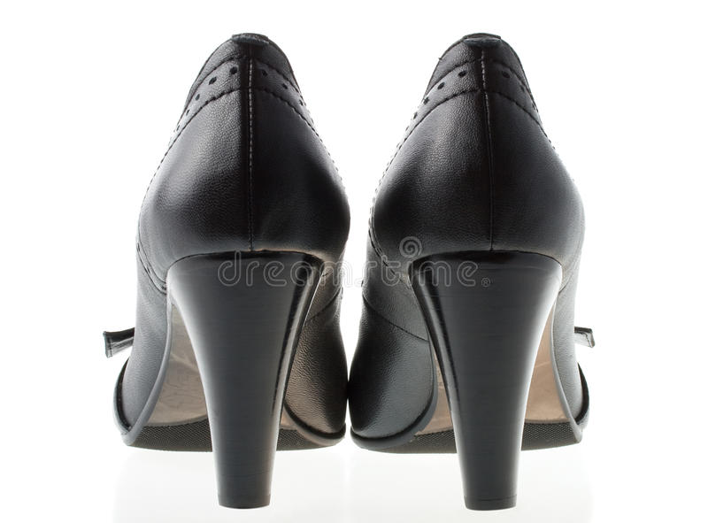 τα πίσω παπούτσια εμφανίζο& στοκ φωτογραφία