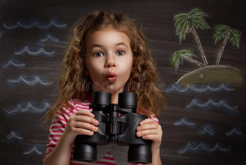Τα παιδιά ονειρεύονται στοκ εικόνα με δικαίωμα ελεύθερης χρήσης
