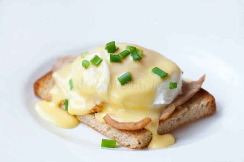 Αυγά Benedict στοκ εικόνα με δικαίωμα ελεύθερης χρήσης