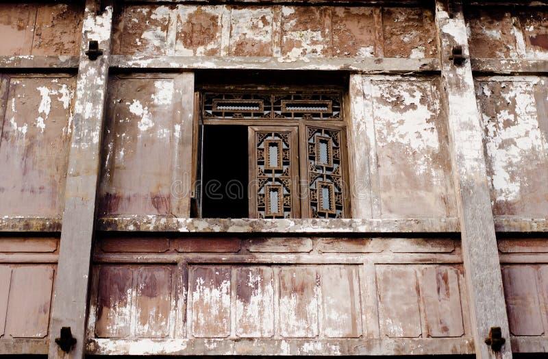 Τα παλαιά παράθυρα στοκ εικόνες