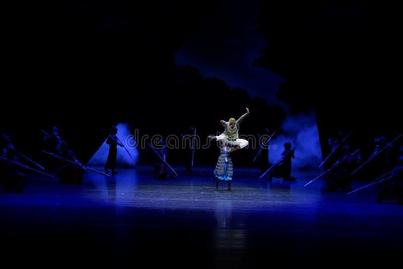 Τα πρωταθλήματα η 1-τέσσερα πράξη ` εμπόδισαν τον εκτελωνισμό ` - επική πριγκήπισσα ` μεταξιού δράματος ` χορού στοκ φωτογραφία