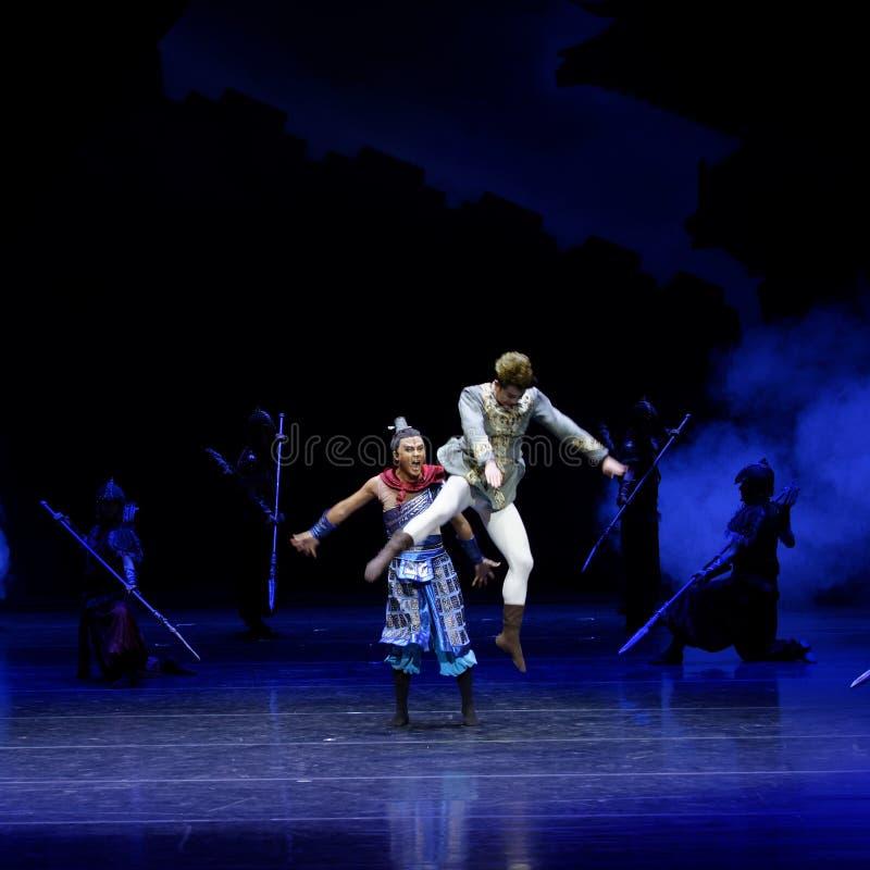 Τα πρωταθλήματα η 1-τέσσερα πράξη ` εμπόδισαν τον εκτελωνισμό ` - επική πριγκήπισσα ` μεταξιού δράματος ` χορού στοκ εικόνες με δικαίωμα ελεύθερης χρήσης