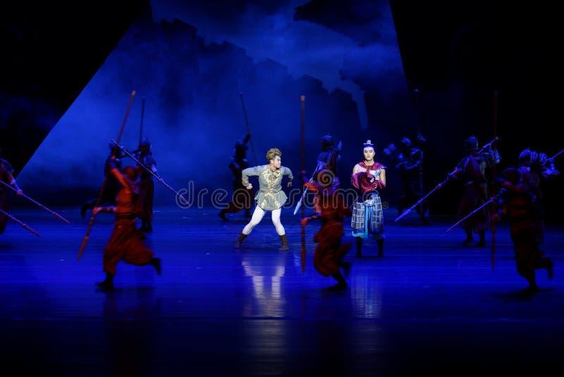 Τα πρωταθλήματα η 2-τέσσερα πράξη ` εμπόδισαν τον εκτελωνισμό ` - επική πριγκήπισσα ` μεταξιού δράματος ` χορού στοκ φωτογραφία με δικαίωμα ελεύθερης χρήσης