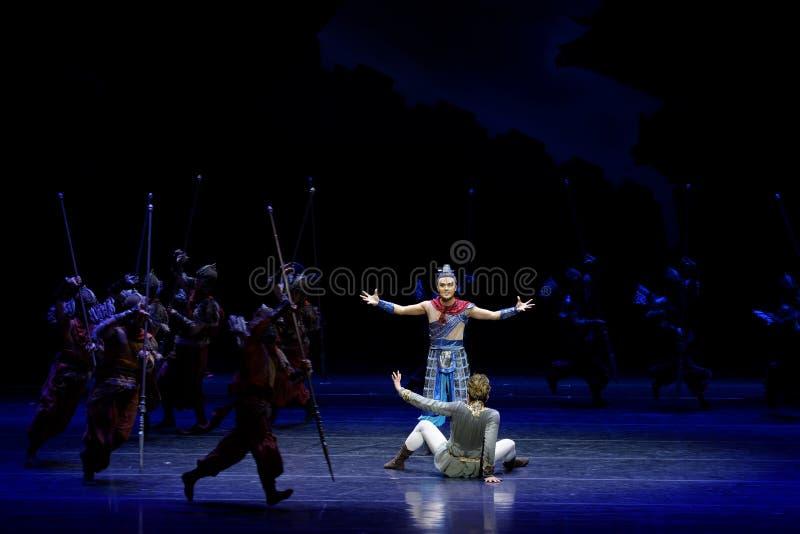 Τα πρωταθλήματα η 2-τέσσερα πράξη ` εμπόδισαν τον εκτελωνισμό ` - επική πριγκήπισσα ` μεταξιού δράματος ` χορού στοκ εικόνα με δικαίωμα ελεύθερης χρήσης