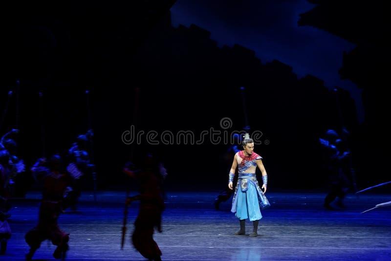 Τα πρωταθλήματα η 2-τέσσερα πράξη ` εμπόδισαν τον εκτελωνισμό ` - επική πριγκήπισσα ` μεταξιού δράματος ` χορού στοκ εικόνες με δικαίωμα ελεύθερης χρήσης