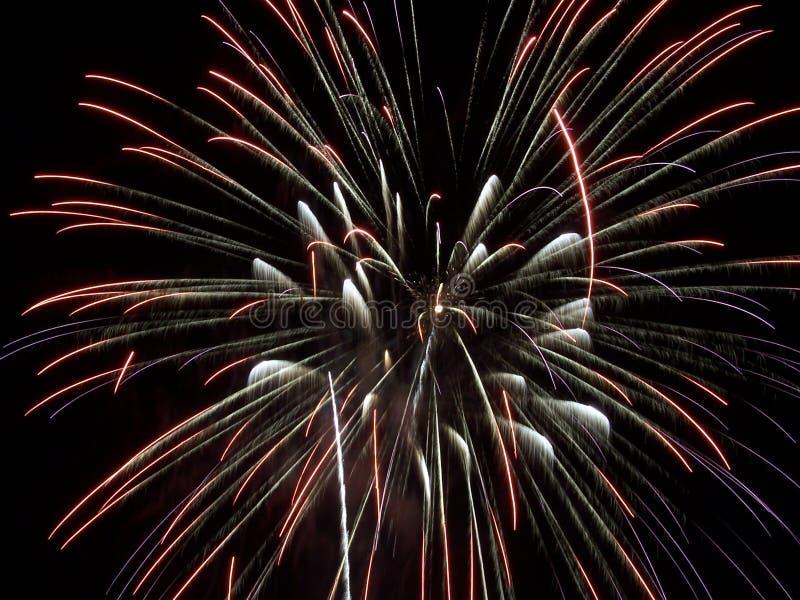 τα πυροτεχνήματα IV εμφανίζουν στοκ εικόνες με δικαίωμα ελεύθερης χρήσης
